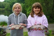 children-fishing-lake-dartmoor-trout
