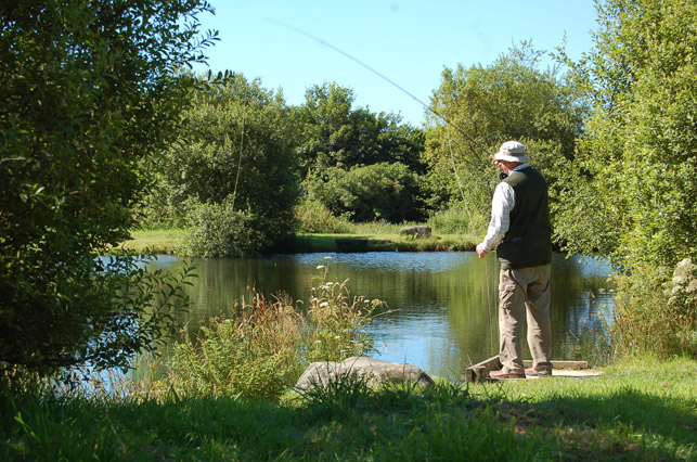 Fishing Lakes | Cottages On Dartmoor & Tavistock Trout Fishery