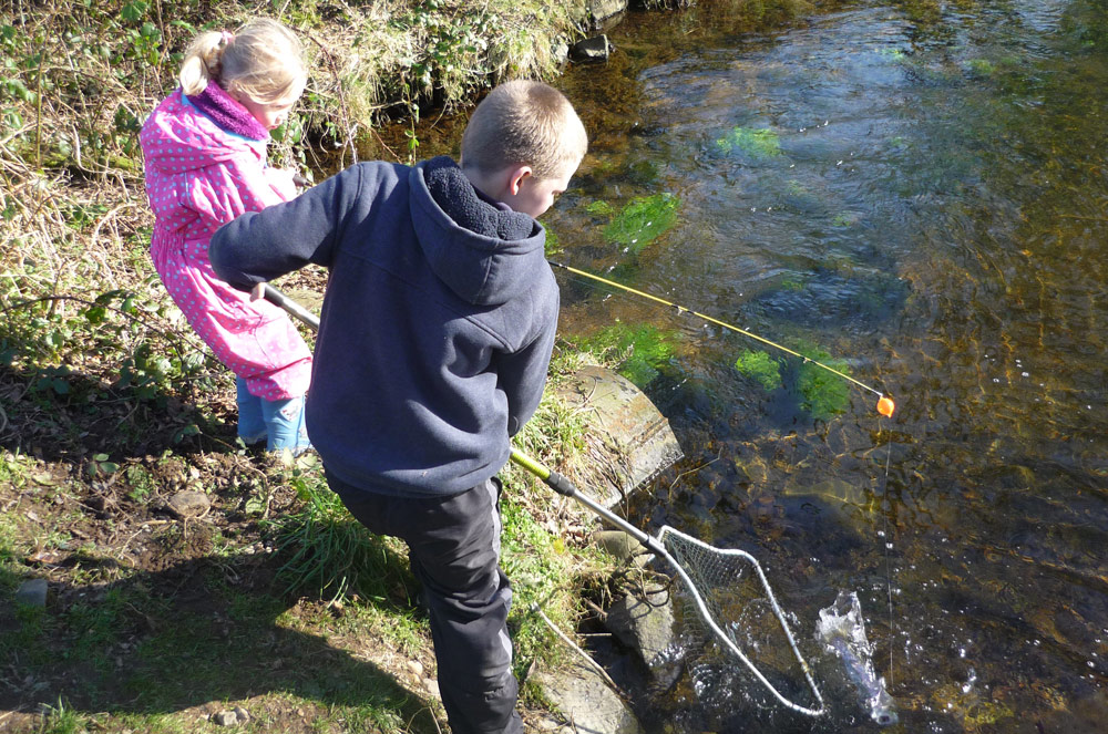 float fishing adults and children tavistock
