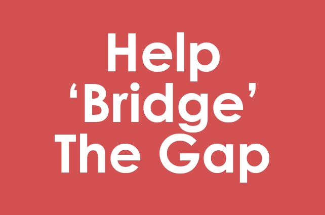 Help 'Bridge' The Gap